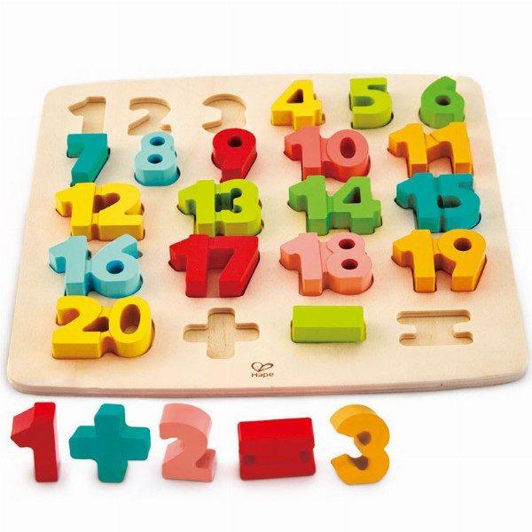Puzzle Hape matematicas
