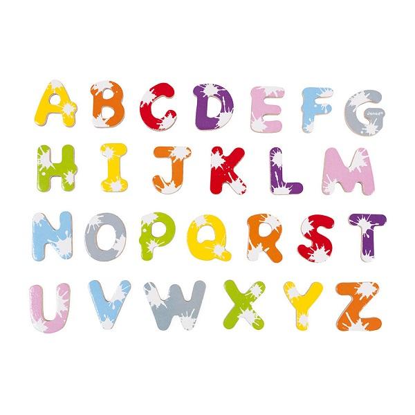 52 letras magneticas