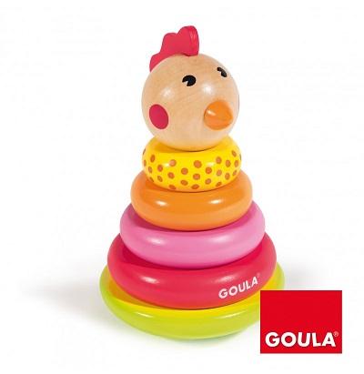 Goula apilable gallina