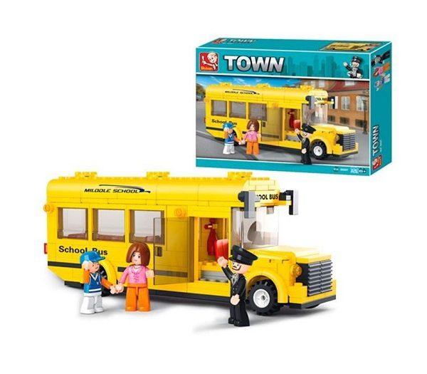 Autobus escolar sluban