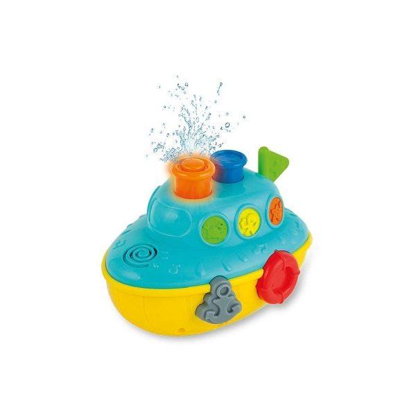 Barco musical bañera