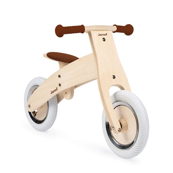 Bicicleta de madera personalizable