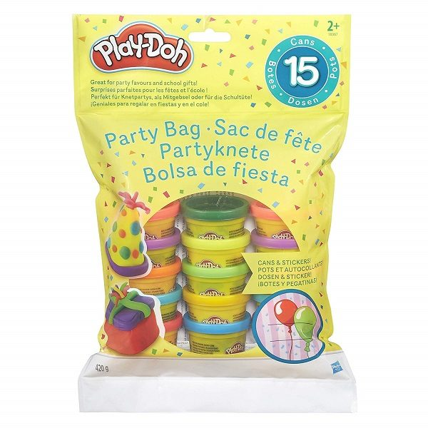 Bolsa 15 mini botes play-doh