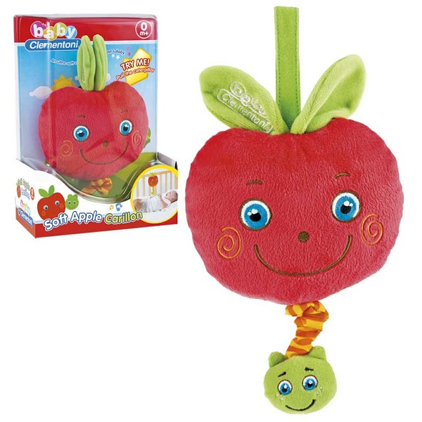 Carrilon peluche manzana
