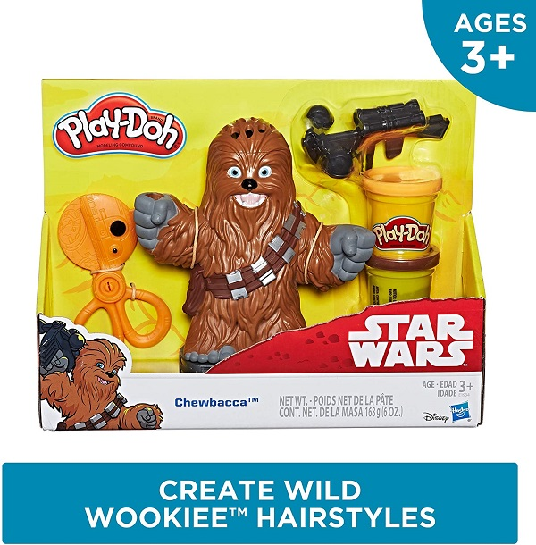 Play doh chewbacca
