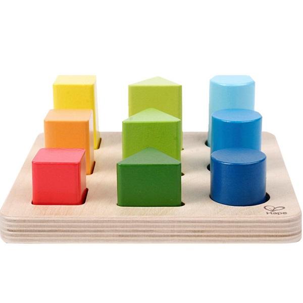 Clasificador de formas y colores