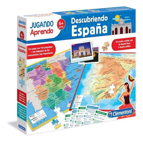 Clementoni descubriendo Espana