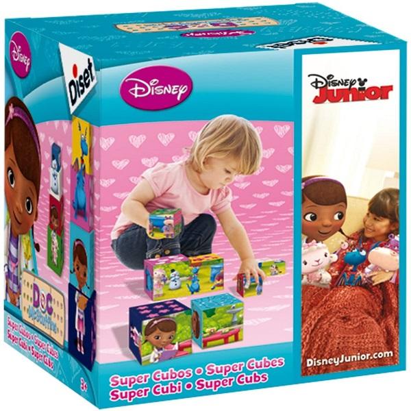 Cubos apilables doctora juguetes