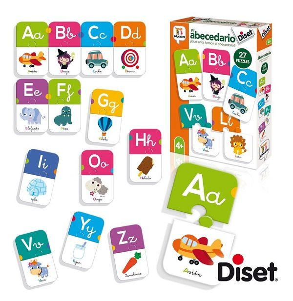 El abecedario Diset