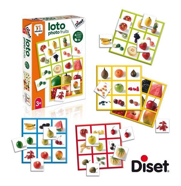 Diset loto photo fruits