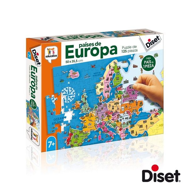 Diset paises de Europa