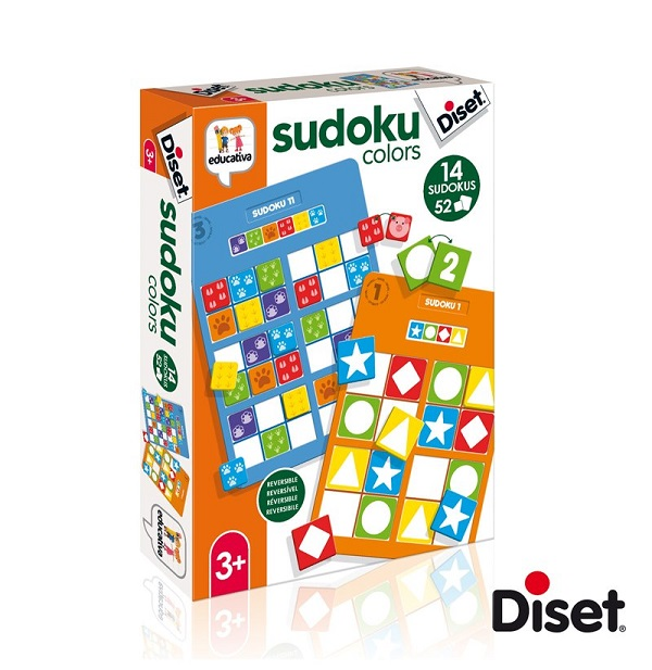 Diset sudoku colors