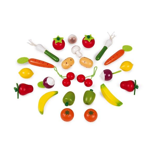 Cesta frutas y verduras janod