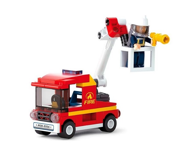 Furgoneta de bomberos sluban