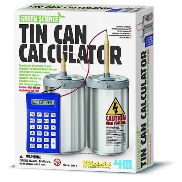 Calculadora reciclada
