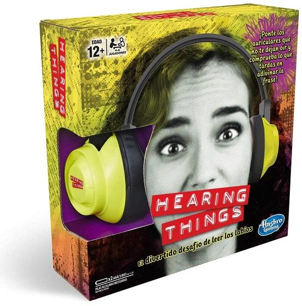 Hasbro hearing things