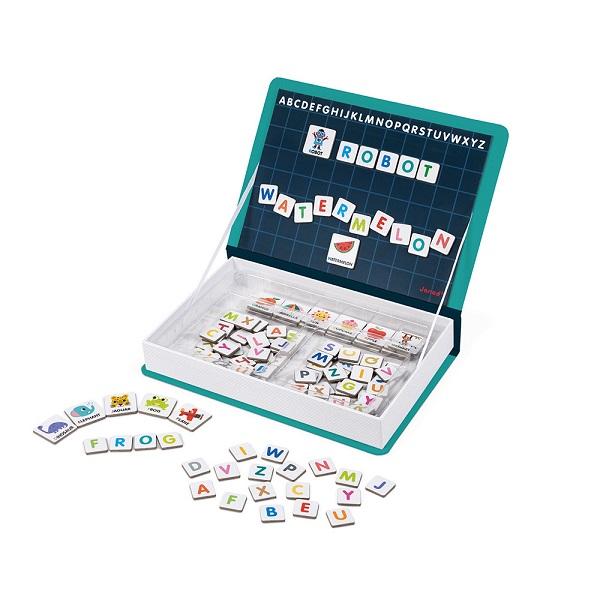 Magnetibook alfabeto en ingles