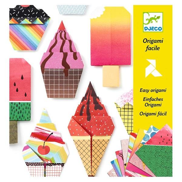 Origami dulces y helados