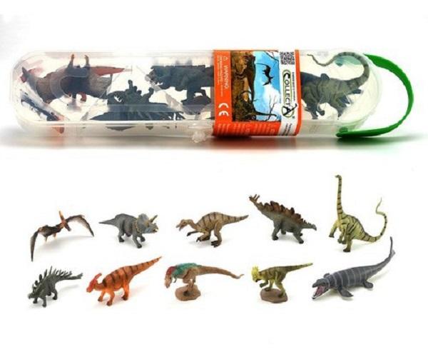 Pack 10 dinosaurios 1