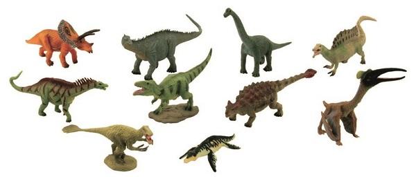 Pack 10 dinosaurios 2