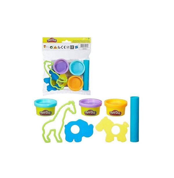 Play-doh animales divertidos
