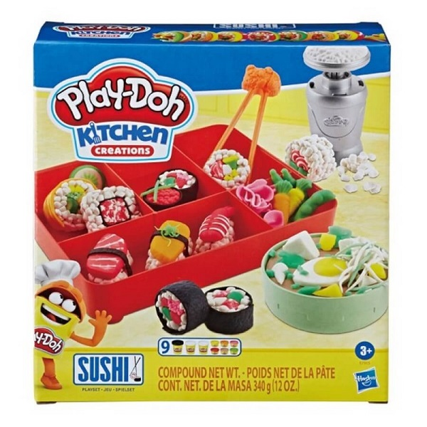 play doh sushi