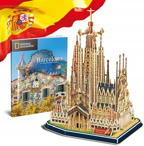 Puzzle 3D sagrada familia