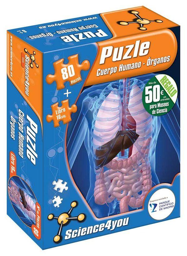 Puzzle cuerpo humano