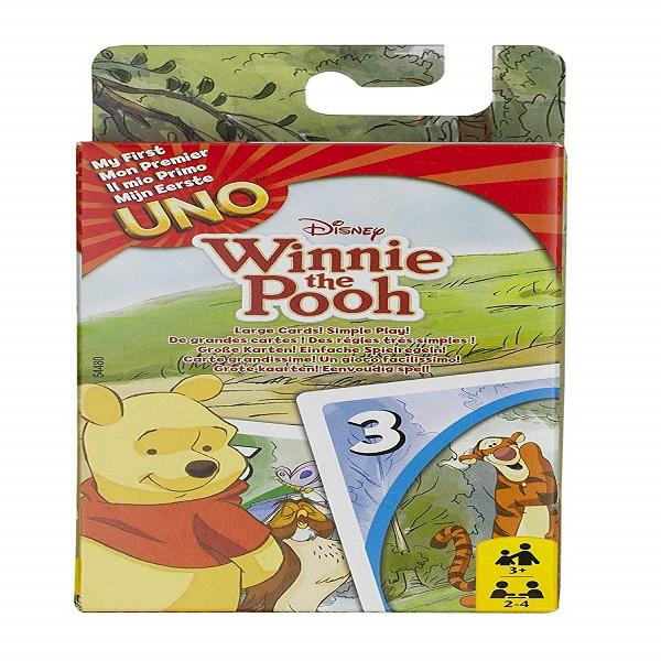 Juego UNO winnie the pooh