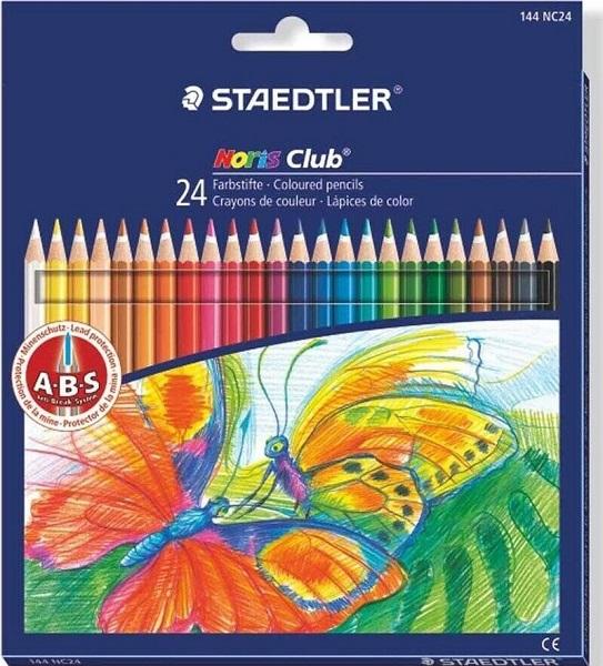 Caja 24 lapices de colores