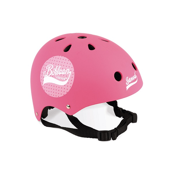 Casco rosa bikloon