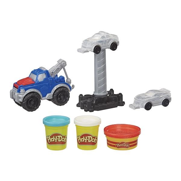 Camion grua play-doh