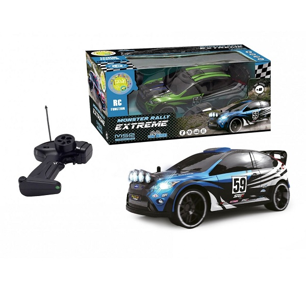 Coche radio control rally extreme