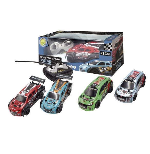 Coche rally radio control