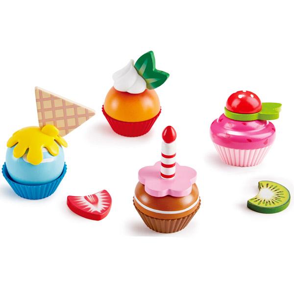 Cupcakes de madera