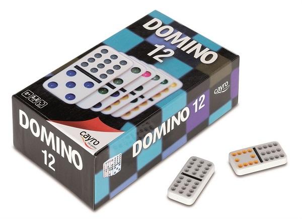 Domino doble 12 cayro
