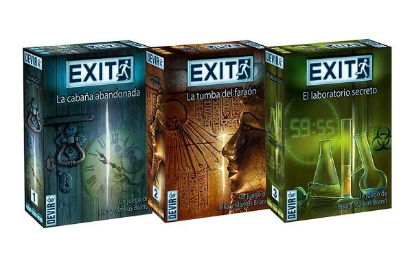 Exit escape room devir
