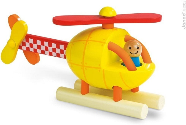 Helicoptero magnetico