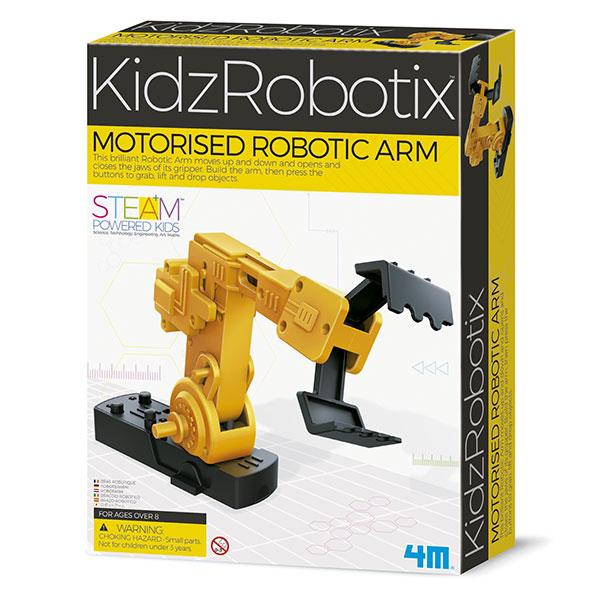 Brazo robot motorizado