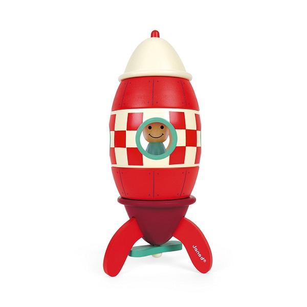 Super cohete de madera