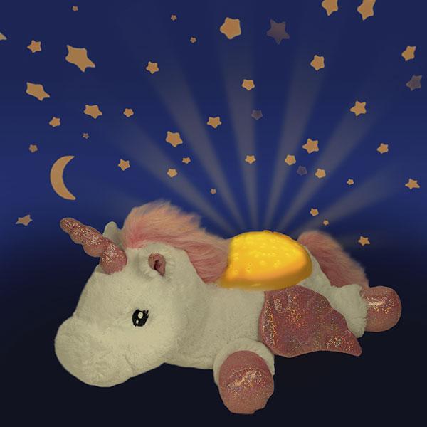 Lampara proyector unicornio