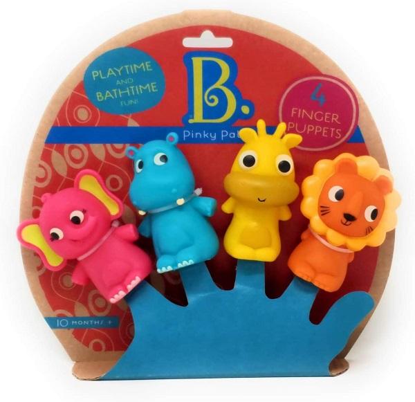 Marionetas de dedo el zoo