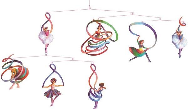 Movil djeco bailarinas