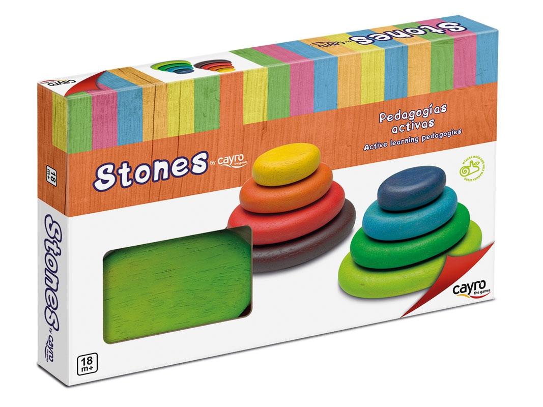 Stones piedras de madera