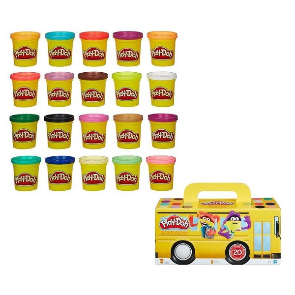 Play-doh pack 20 botes