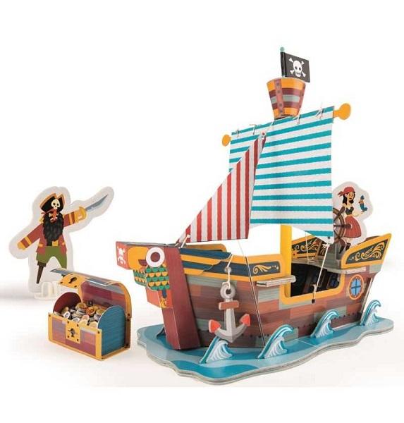 Playset barco pirata