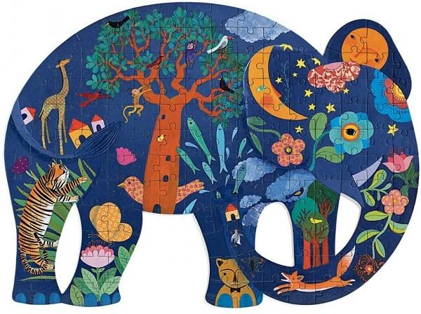 Puzzle elefante djeco