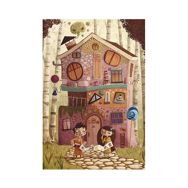 Puzzle gigante hansel y gretel
