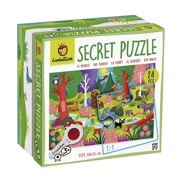 Puzzle secreto del bosque
