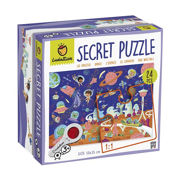 Puzzle secreto el espacio